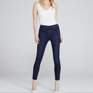 J Brand Alana High Rise Crop Skinny Jeans Size 30
